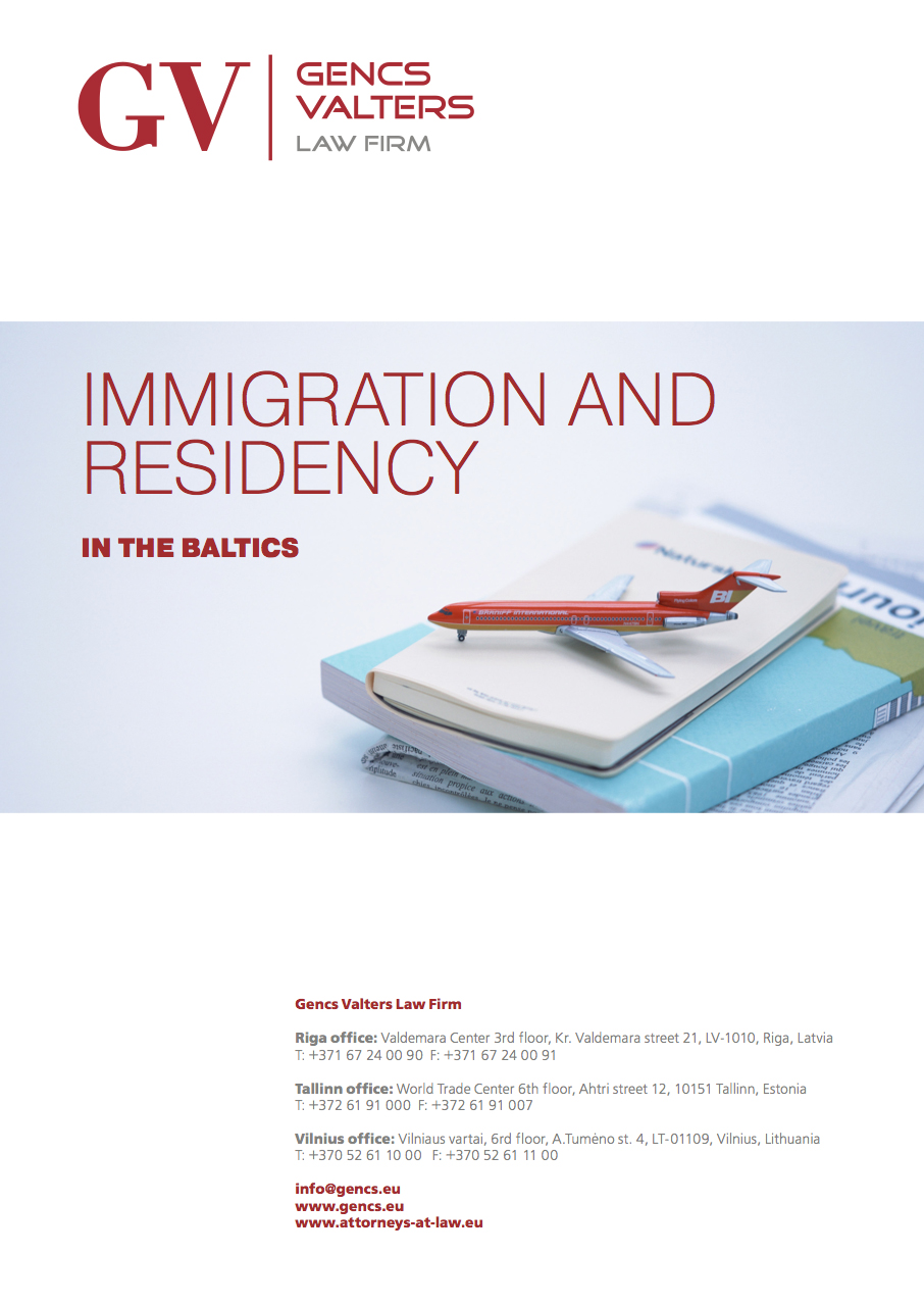 Immigration and Residency in Baltics 2015: Latvia, Lithuania, Estonia